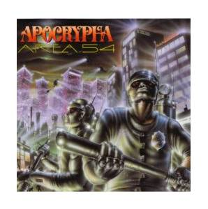 Apocrypha: Area 54 - Cover
