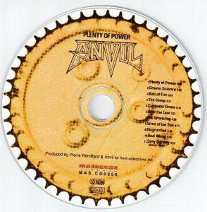 Anvil: Plenty Of Power (CD) - Bild 3