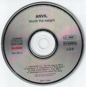 Anvil: Worth The Weight (CD) - Bild 3