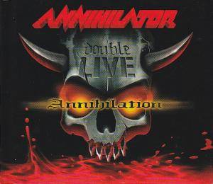 Annihilator: Double Live Annihilation - Cover