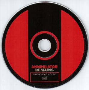 Annihilator: Remains (CD) - Bild 3