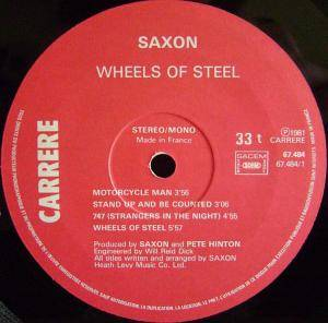 Saxon: Wheels Of Steel (LP) - Bild 4
