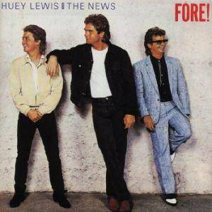Huey Lewis & The News: Fore! (LP) - Bild 1