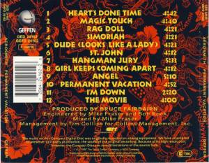 Aerosmith: Permanent Vacation (CD) - Bild 2
