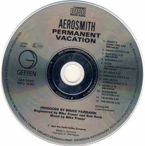 Aerosmith: Permanent Vacation (CD) - Bild 3