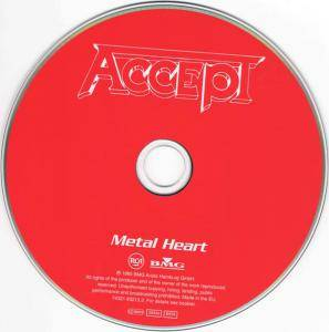 Accept: Metal Heart (CD) - Bild 5