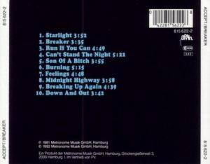 Accept: Breaker (CD) - Bild 2
