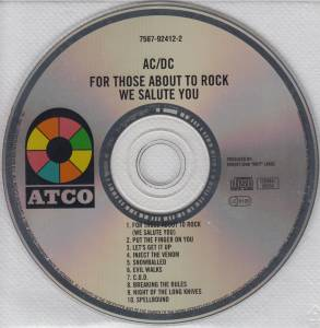 AC/DC: For Those About To Rock We Salute You (CD) - Bild 4
