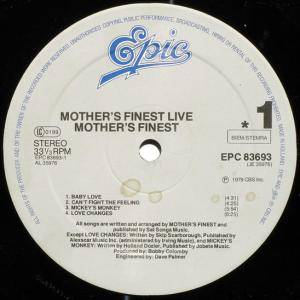 Mother's Finest: Live (LP) - Bild 5