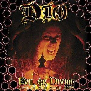Dio: Evil Or Divine - Live In New York City - Cover