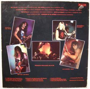 Slayer: Hell Awaits (LP) - Bild 3