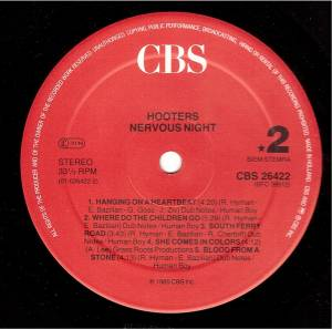 The Hooters: Nervous Night (LP) - Bild 6