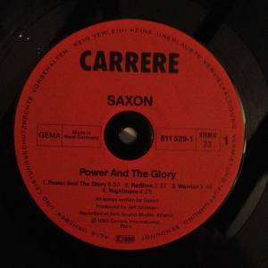 Saxon: Power & The Glory (LP) - Bild 3