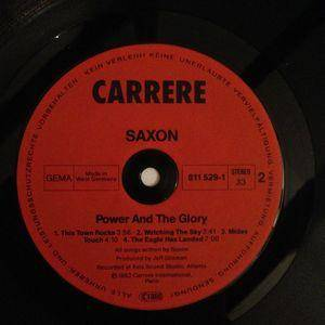 Saxon: Power & The Glory (LP) - Bild 4
