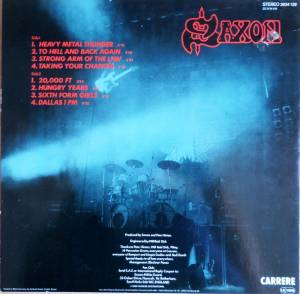 Saxon: Strong Arm Of The Law (LP) - Bild 2