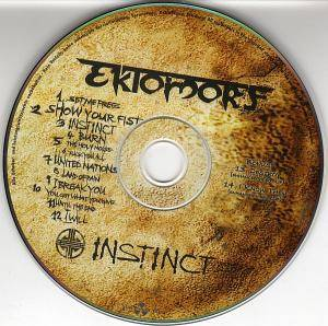 Ektomorf: Instinct (CD) - Bild 3