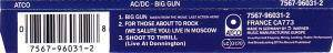 AC/DC: Big Gun (Single-CD) - Bild 3