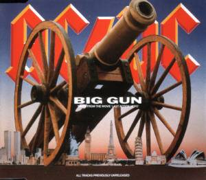 AC/DC: Big Gun (Single-CD) - Bild 1