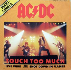 AC/DC: Touch Too Much - Cover