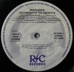 Pestilence: Testimony Of The Ancients (LP) - Bild 4