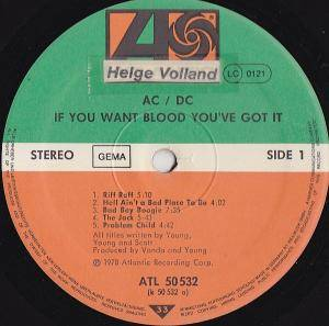AC/DC: If You Want Blood You've Got It (LP) - Bild 4