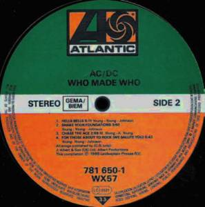 AC/DC: Who Made Who (LP) - Bild 5