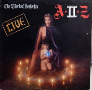 A-II-Z: Witch Of Berkeley, The - Cover