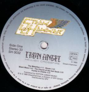 Iron Angel: Hellish Crossfire (LP) - Bild 3