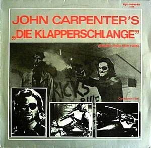 Cover - Splash Band, The: Klapperschlange (Escape From New York), Die