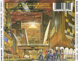 Iron Maiden: Somewhere In Time (CD) - Bild 3