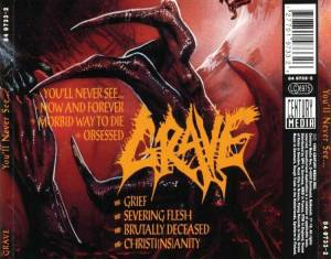 Grave: You'll Never See... (CD) - Bild 2