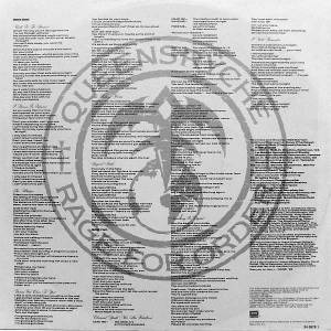 Queensrÿche: Rage For Order (LP) - Bild 4