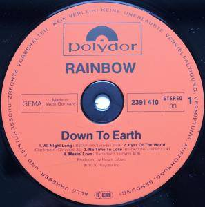 Rainbow: Down To Earth (LP) - Bild 5