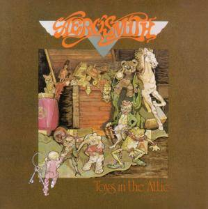 Aerosmith: Toys In The Attic - Cover