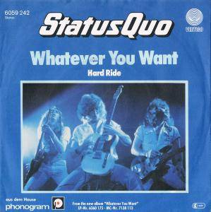 Status Quo: Whatever You Want - Cover
