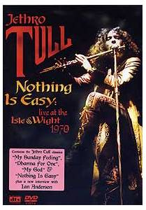 Jethro Tull: Nothing Is Easy: Live At The Isle Of Wight 1970 - Cover