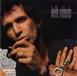 Keith Richards: Talk Is Cheap - Cover