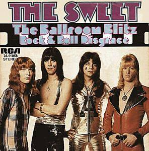 The Sweet: Ballroom Blitz, The - Cover
