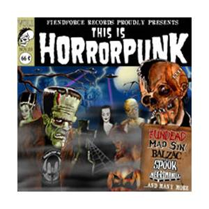 Cover - Devils Whorehouse: This Is Horrorpunk