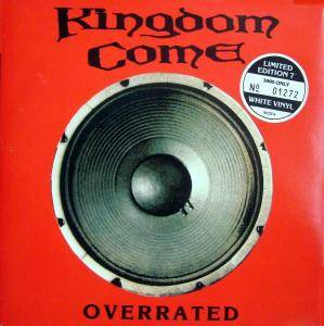 Kingdom Come: Overrated - Cover