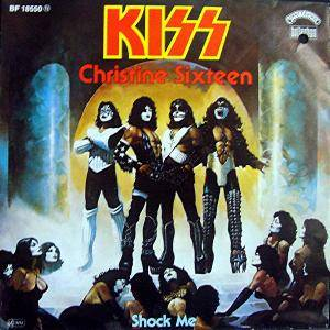 KISS: Christine Sixteen - Cover