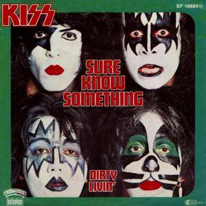 KISS: Sure Know Something - Cover