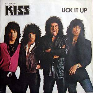 KISS: Lick It Up - Cover