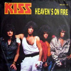 KISS: Heaven's On Fire - Cover