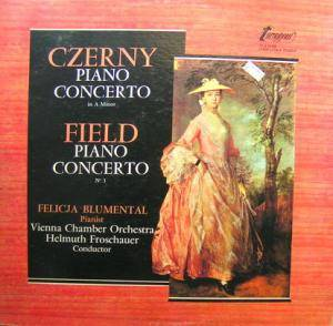 Cover - John Field: Czerny / Field Piano Concerti