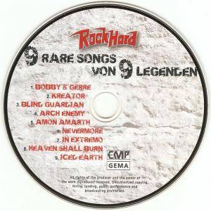 Rock Hard - 9 Rare Songs Von 9 Legenden (CD) - Bild 3