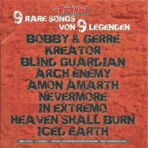 Rock Hard - 9 Rare Songs Von 9 Legenden (CD) - Bild 1