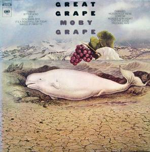 Cover - Moby Grape: Great Grape