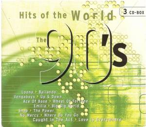 Cover - K.W.S.: 90's Hits Of The World, The