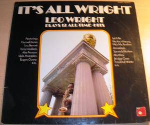 Cover - Leo Wright: It's All Wright